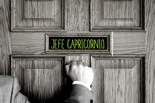 CÓMO ES EL JEFE CAPRICORNIO