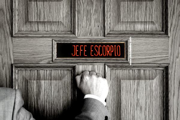 CÓMO ES EL JEFE ESCORPIO