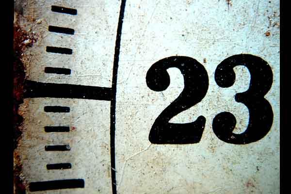 CURIOSIDADES DEL NÚMERO 23