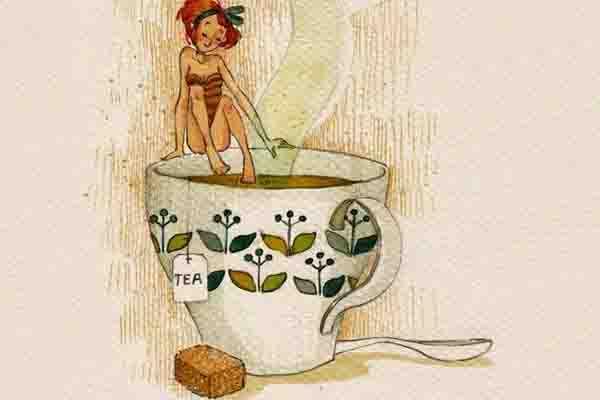 La magia de los baños de Te