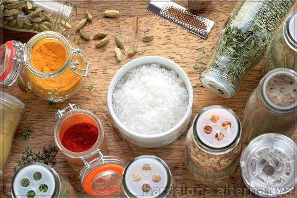 10 condimentos de poder con sal
