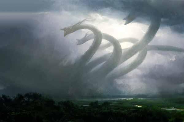 Saturno en Escorpio y las nueve cabezas de la Hidra