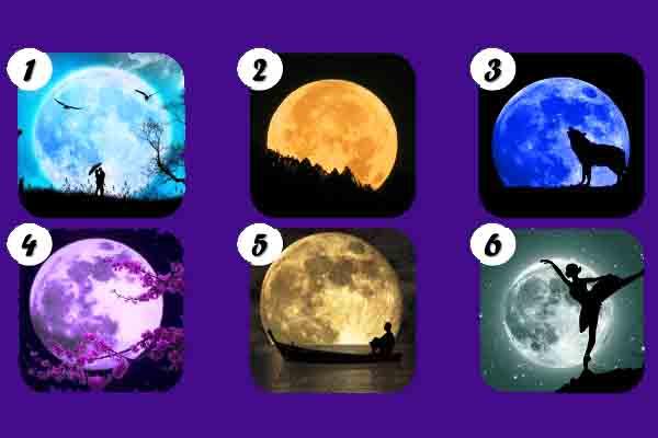 Test de la luna: Elige tu luna favorita