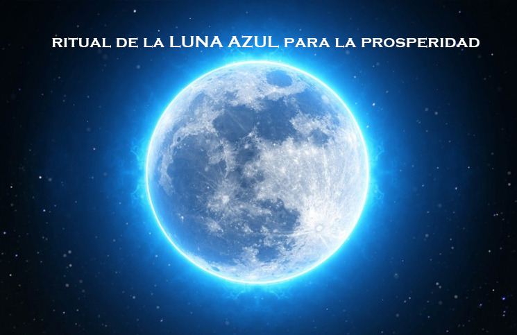 Decreto y ritual para la luna azul