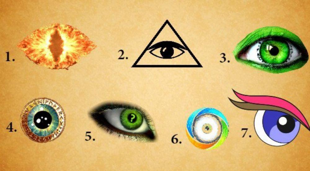 Elige un ojo y descubre aspectos de tu alma