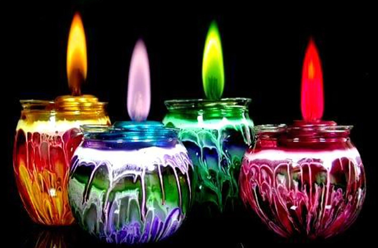 Diferentes velas para determinados dias